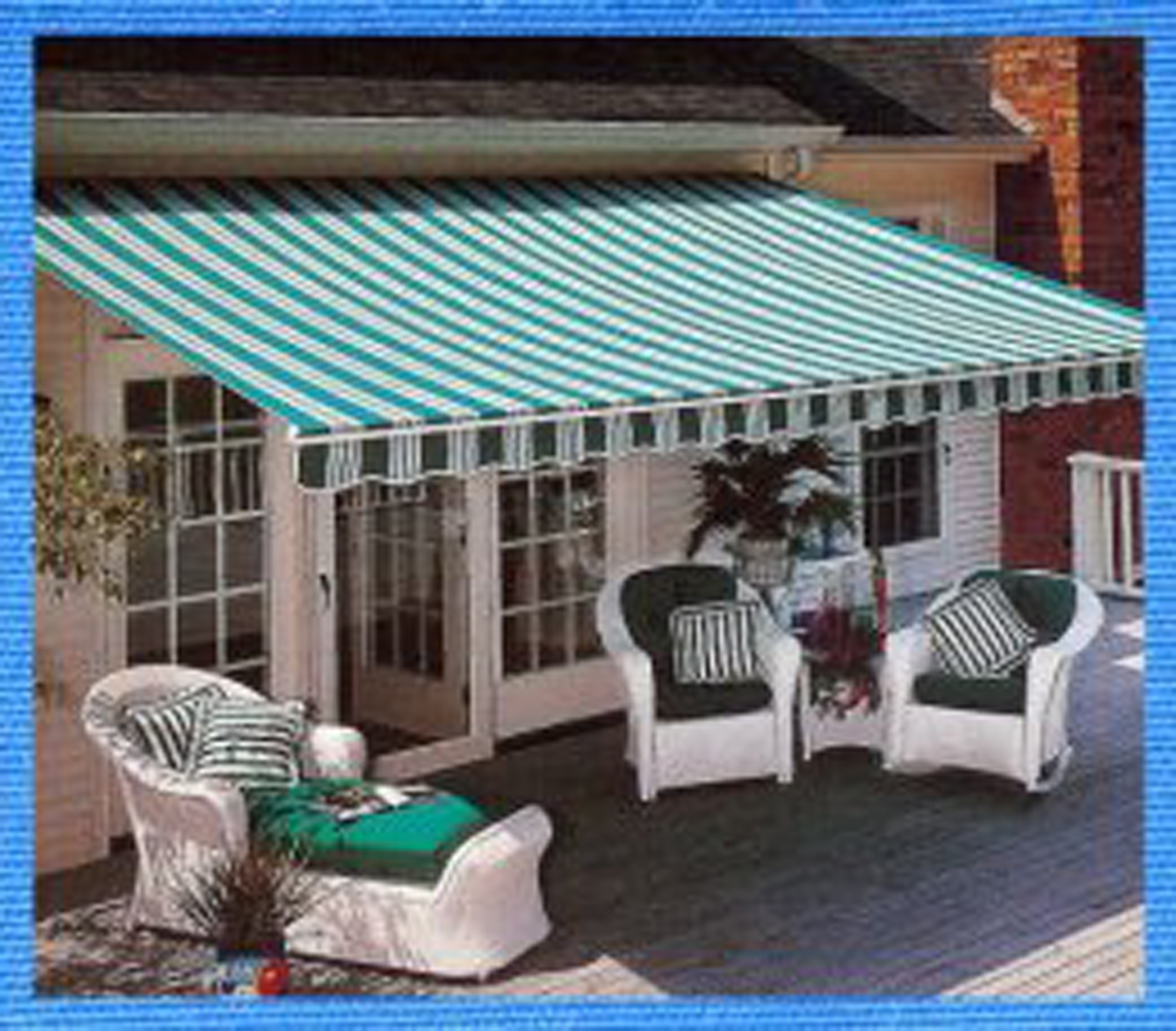 Custom Sun Shades Awnings Patio Shade Motorized Roller Drops Window Coverings